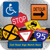 Cool Road Sign Match Race FREE 1.0