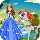 White Horse Princess Dress Up 1.0
