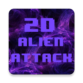 2D Alien Attack - Retro Action 1.8