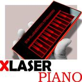 X-Laser Piano Simulated Eighth