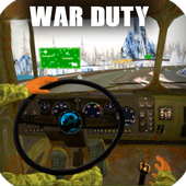 War duty cargo truck