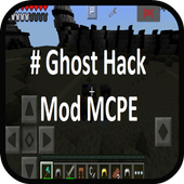 Ghost Hack Mod for MCPE 1.0