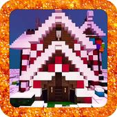 Gingerbread House MCPE Map 1.0