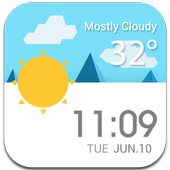 Daily Live Weather Widget εїз 4.8.2.b_release