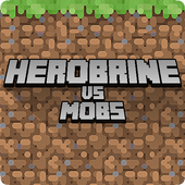 Herobrine vs Mob Craft Free PE 1.0.0