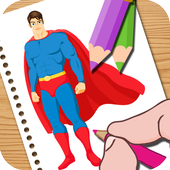 Super Hero Coloring Easy Kids 1.03