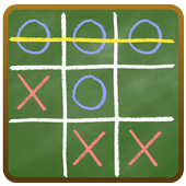 Tic Tac Toe on blackboard 1.1.1