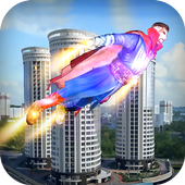Flying Superhero - Mission City Rescue 1.0