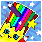 Kid Coloring Shopkin Games 1.0