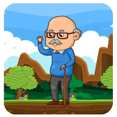 Run Grandpa Adventure Games 2.0