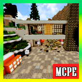 Mega Mansion. Minecraft Map 2.2