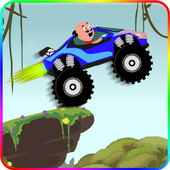 Motu Patlu in Hill Racing Dora 2.0
