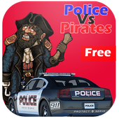 Police Vs Pirates : Car Game 1.0