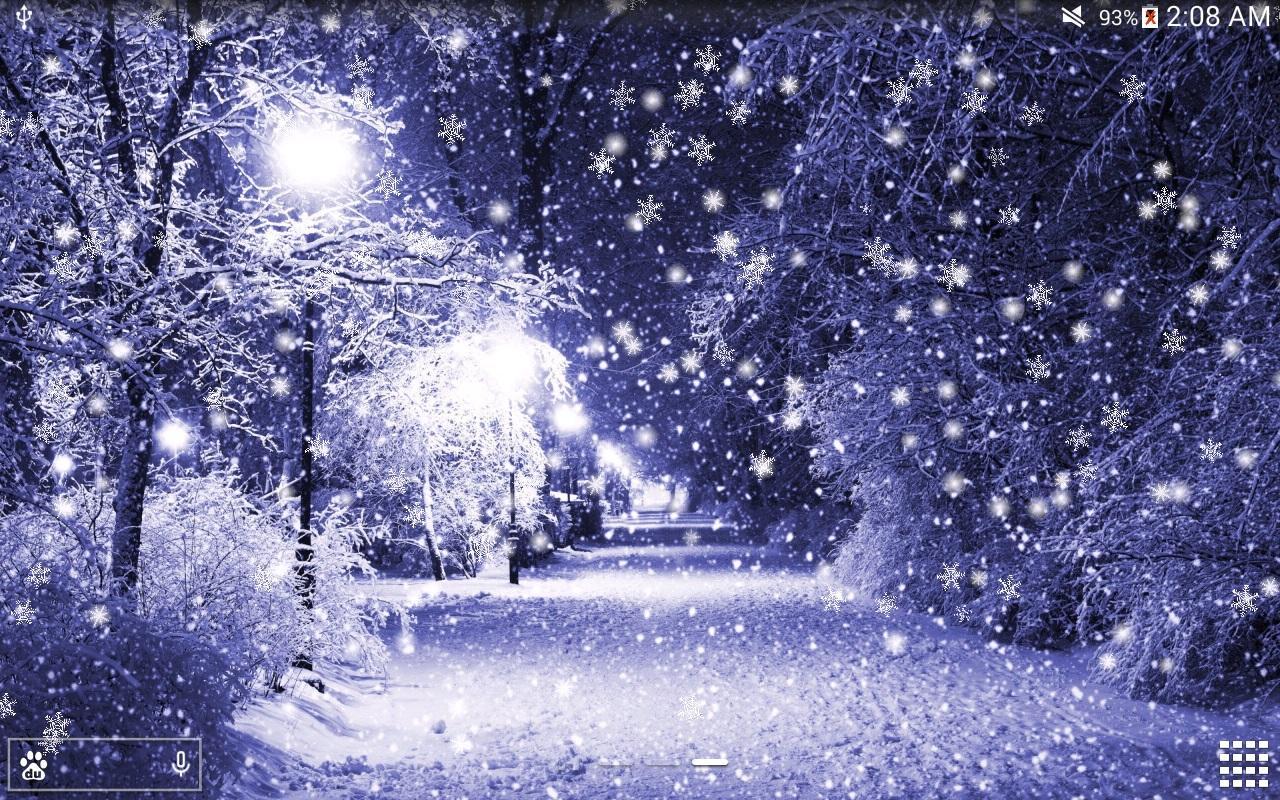 winter snow live wallpaper pro 1 2 6 apk download