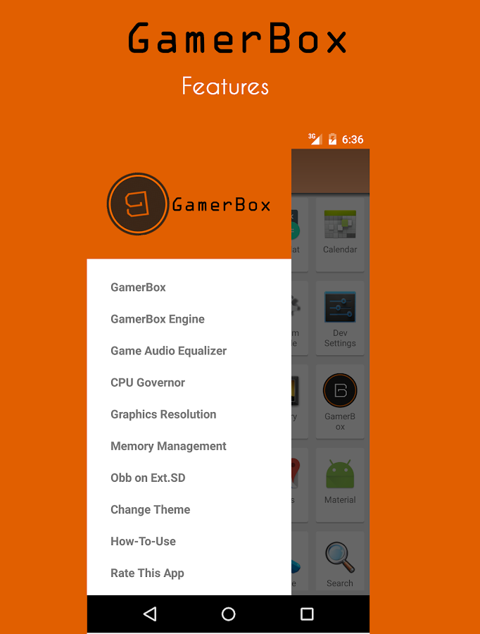 Gamer Box - Game Booster[ROOT] 1 1 APK Download - Android