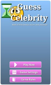 Guess Celebrity Actors 1.01 screenshot 1