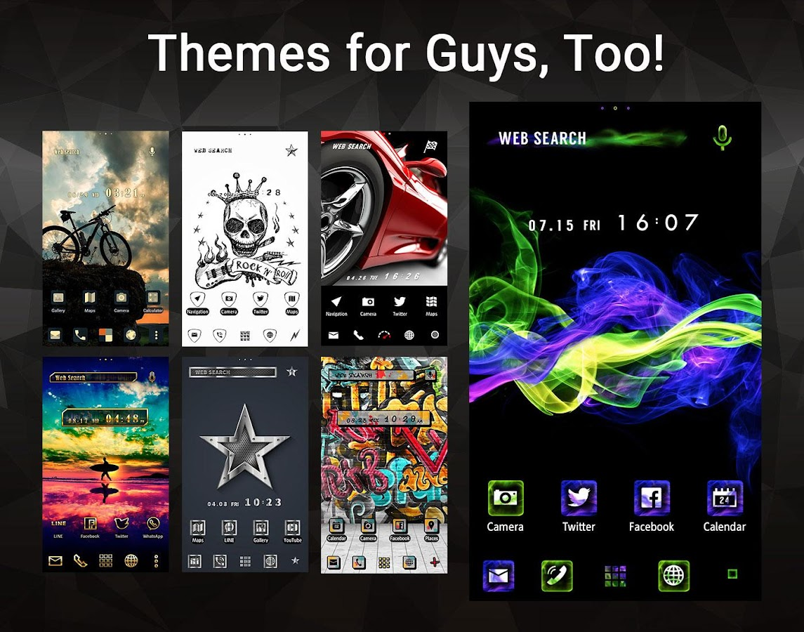 wallpaper theme home launcher apk download android