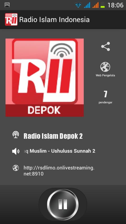 radio islam indonesia 1 1 screenshot 1 radio islam indonesia 1 1 screenshot 2