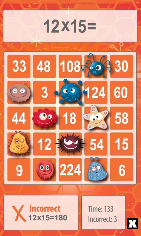 Math BINGO 1.11 APK Download - Android Education Apps