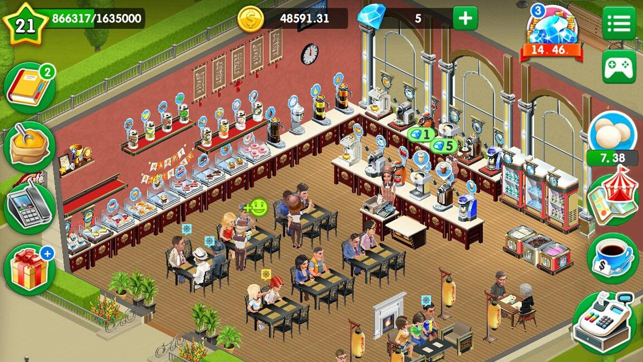 My Cafe Game Recipes