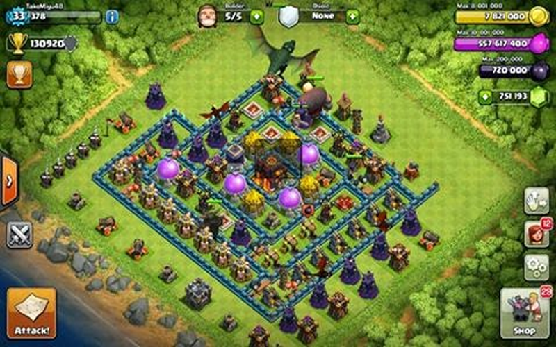 New Fhx For Coc 1 1 0 Apk Download Android Strategy Games