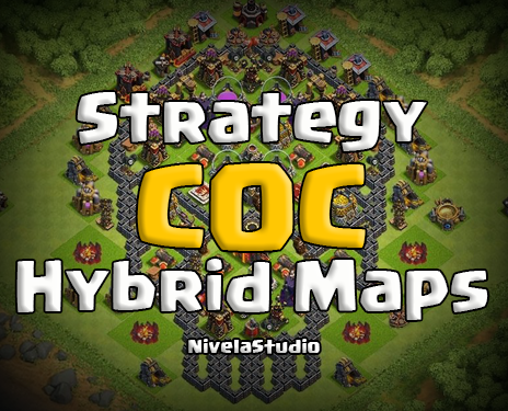 Top Hybrid Base Layouts Coc   Screens