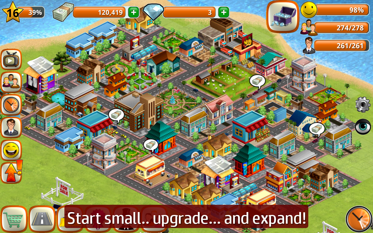 Village City Island Sim Build Virtual Town Game 1 7 1