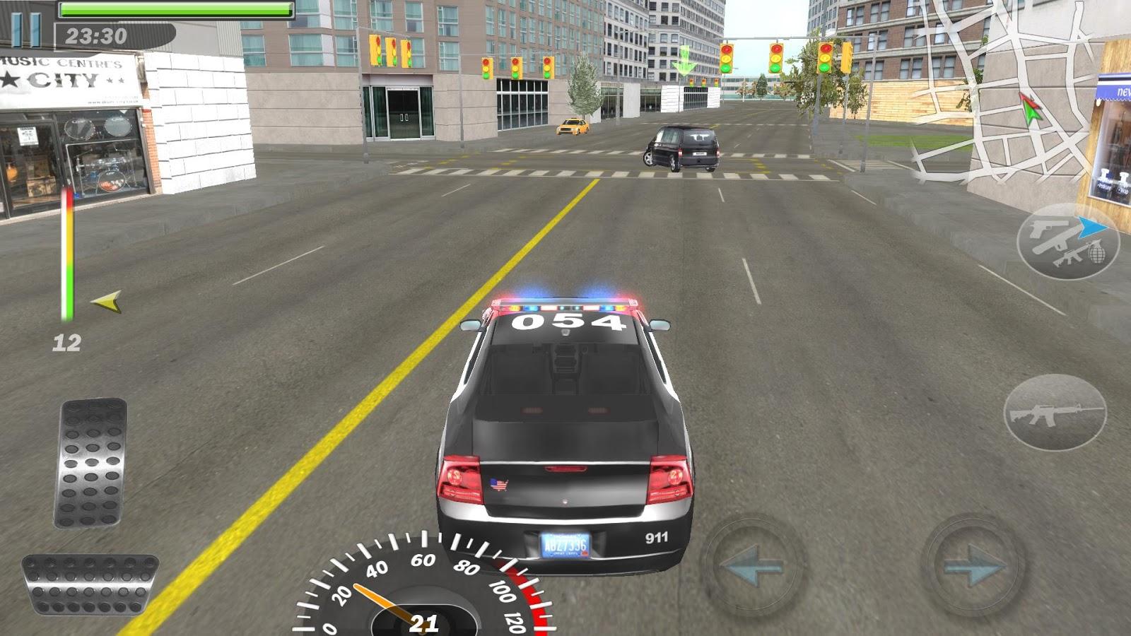 игра гонки на полицейским машинах