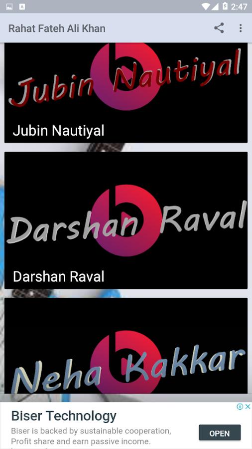 Rahat Fateh Ali khan - Dil Zaffran 1 0 APK Download
