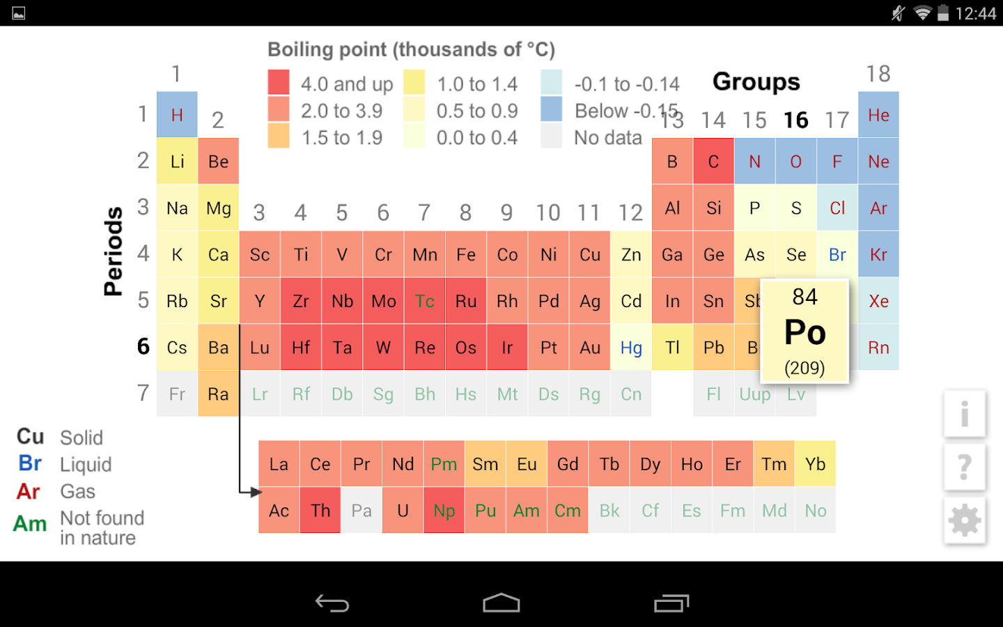 K12 periodic table 3014 apk download android education apps k12 periodic table 3014 screenshot 13 urtaz Image collections