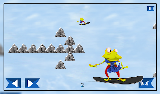 Super Froggy Ski : Snow Fun + 1.0 screenshot 12