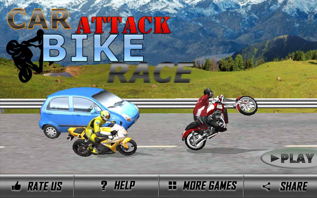 Car Attack Bike Race 1 0 1 Apk Download Android Racing Games