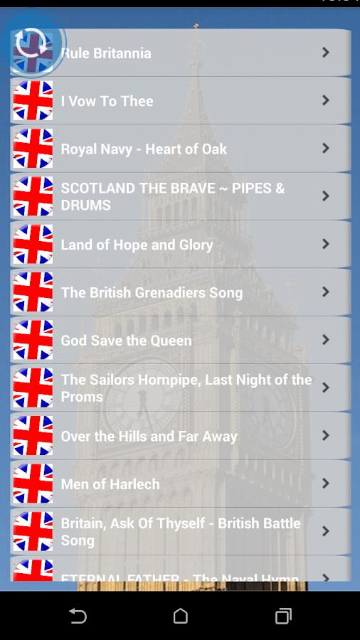 British Patriotic Songs 3 4 6 5 3 APK Download - Android