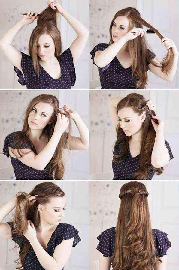 Easy Hairstyle Step by Step 1.0 APK Download - Android Lifestyle Apps