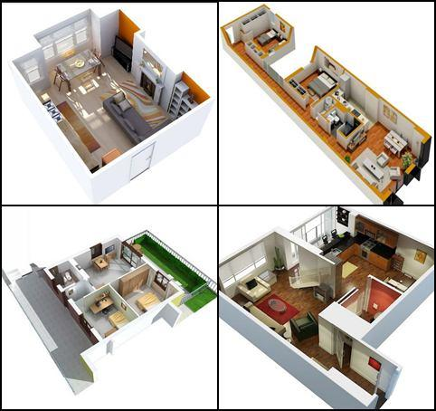 3d small house plans idea 10 screenshot 4 - Small Home Plans