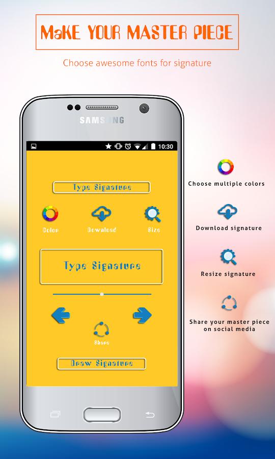 Digital Signature Maker 1.0 APK Download - Android Entertainment ...