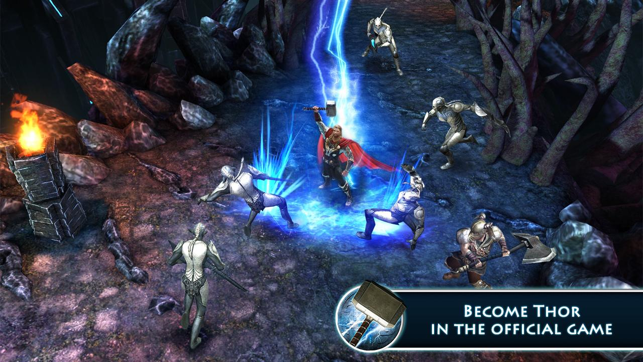 Thor: TDW - The Official Game 1.2.3 APK Download - Android Action ...