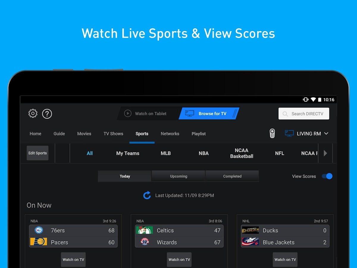 Directv For Tablets 5 4 002 Apk Download Android