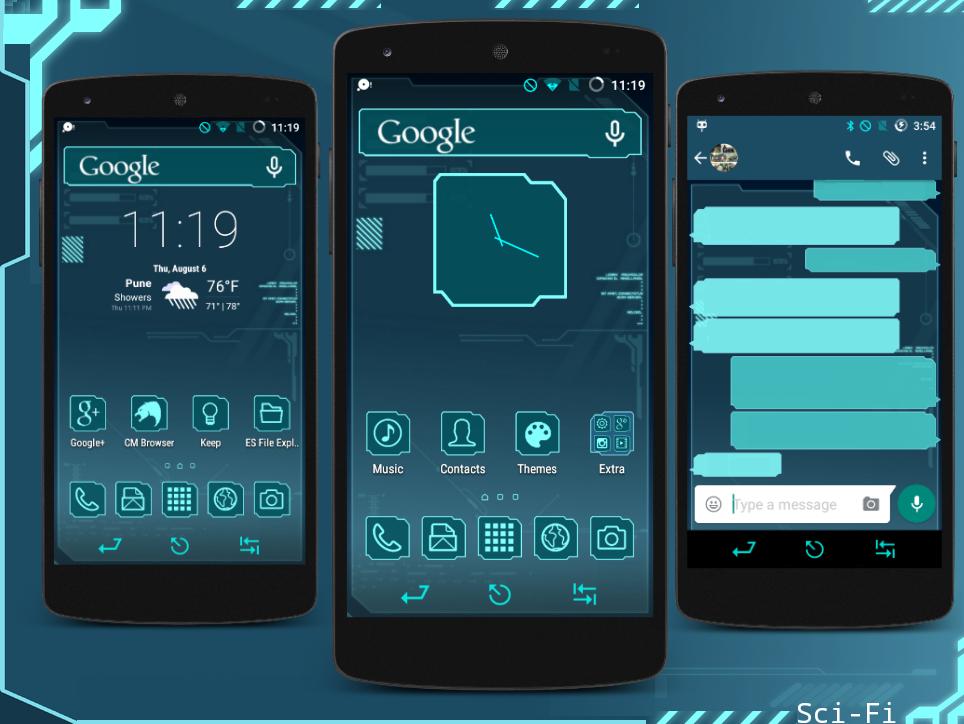 Fi theme android free