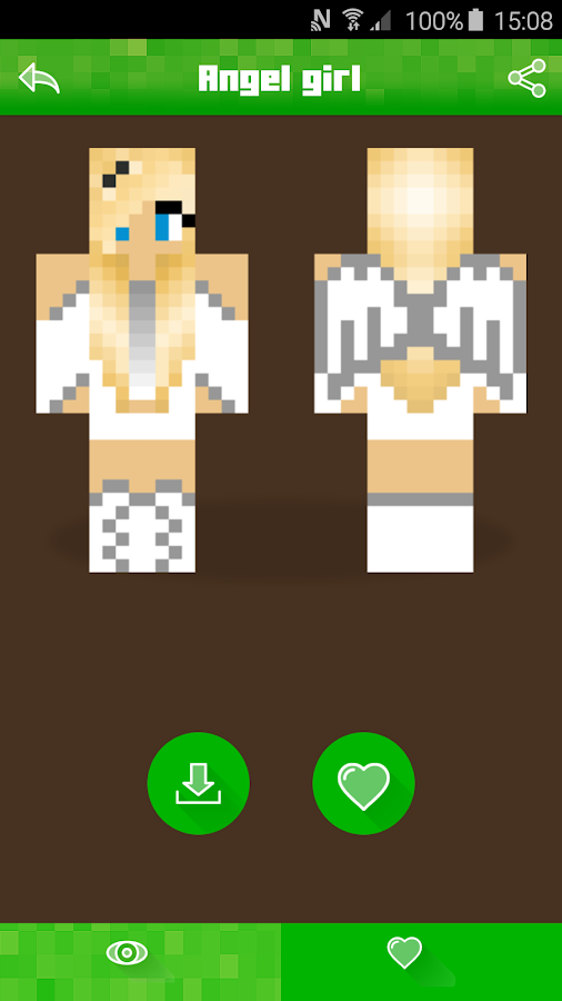 Girl Skins For Minecraft PE APK Download Android Books - Skin para o minecraft pocket edition