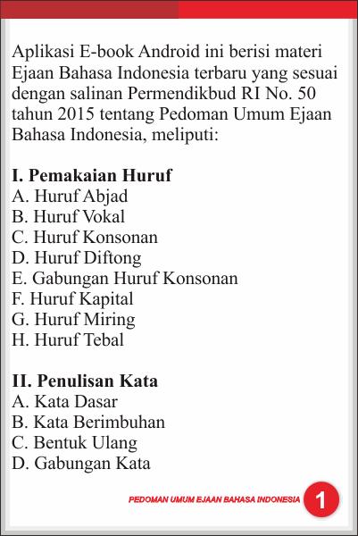 Pedoman Umum Ejaan B Indonesia V