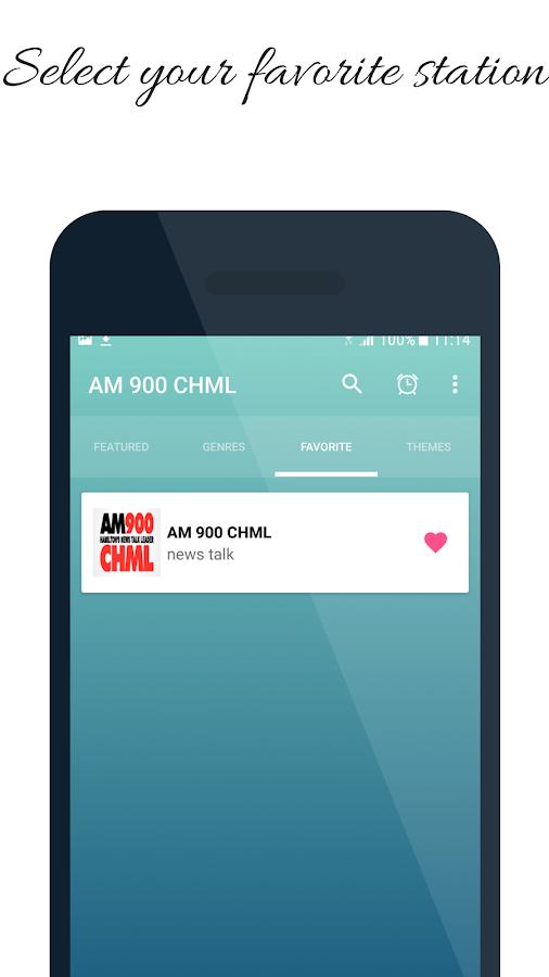 900 CHML AM Radio Station Canada 101 Screenshot 2