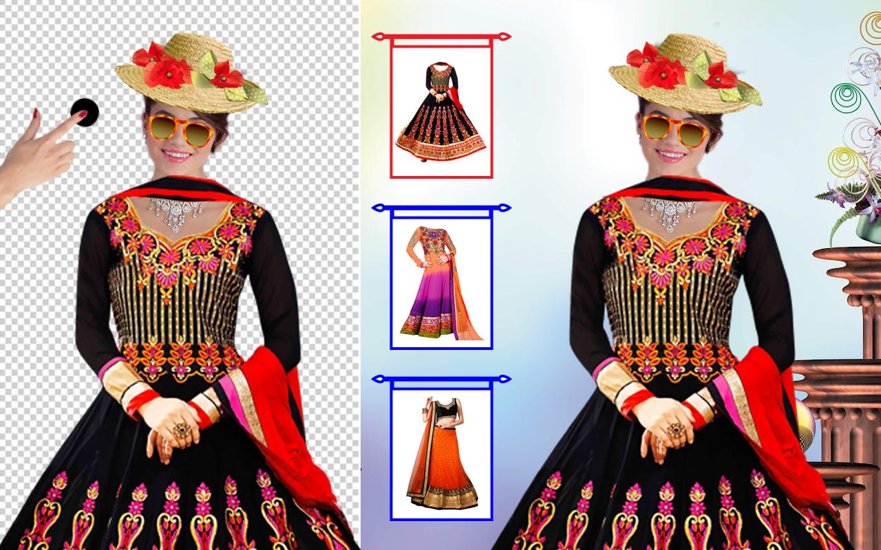 7c5e8e84e2 Woman Fancy Saree Photo Suit Montage 1.0.9 APK Download - Android ...