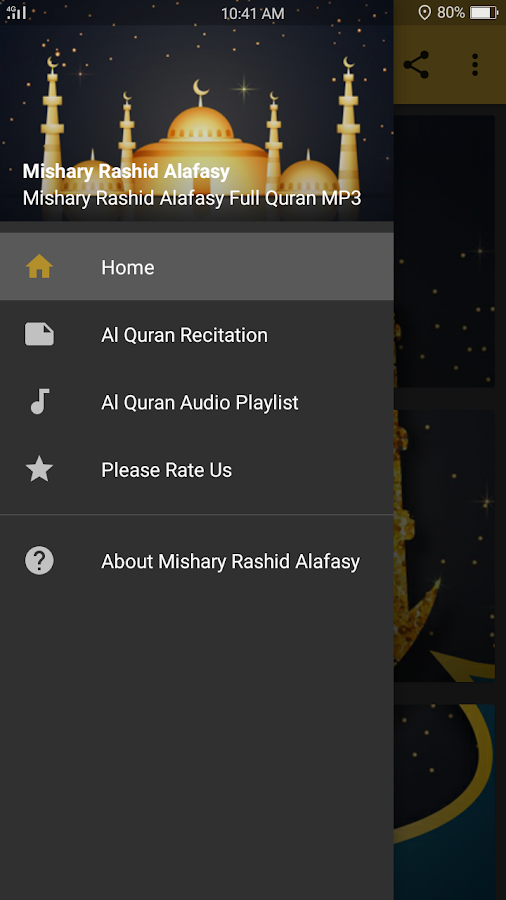 Audio Quran by Mishary Alafasy 1 0 APK Download - Android