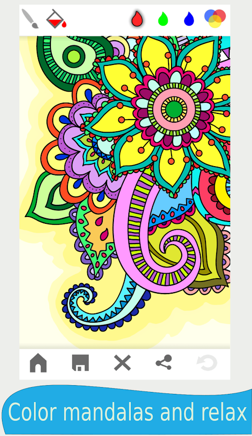 Mandala Coloring Book For Adults 20160912 Screenshot 11