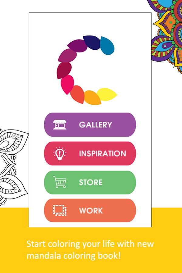 Cloud Download APK File Adult Coloring BookPigment Screenshot 1
