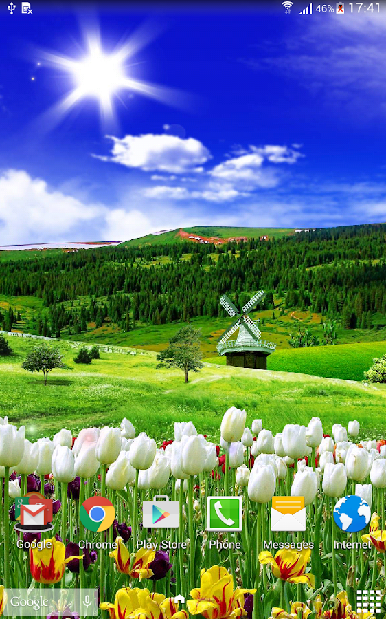 8458b9142fc0 Spring Nature Live Wallpaper 1.0.4 APK Download Android Personalization Apps