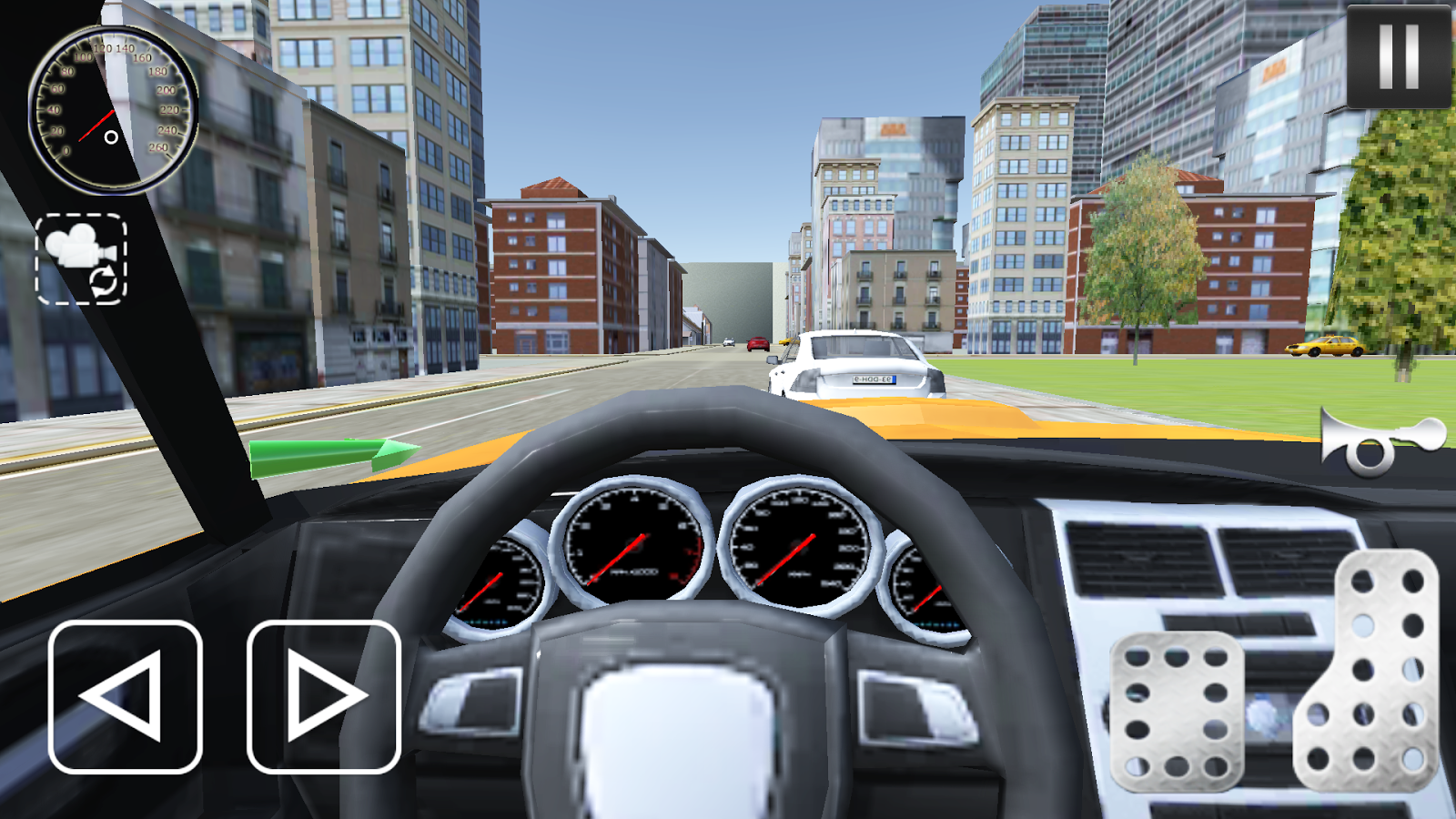 Super car city driving sim free games free online -  Real City Car Driving Sim 2017 5 Screenshot 3