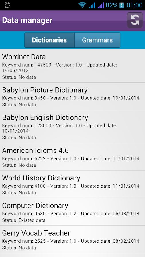 English dictionary all in one 2 1 8 apk download for One dictionary