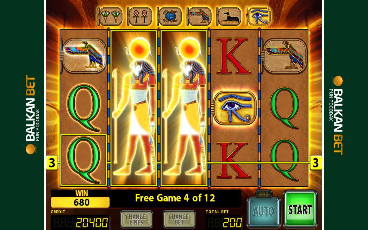 Slot machine horus